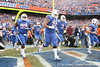 Florida players run onto the field before the Gators' 37-10 win against Florida State on Saturday, November 28, 2009 at Ben Hill Griffin Stadium in Gainesville, Fla. / Gator Country photo by Tim Casey