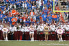 The Marching Chiefs perform before the Gators' 37-10 win against Florida State on Saturday, November 28, 2009 at Ben Hill Griffin Stadium in Gainesville, Fla. / Gator Country photo by Tim Casey