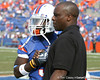 Florida redshirt sophomore running back Chris Rainey warms up before the Gators' 37-10 win against Florida State on Saturday, November 28, 2009 at Ben Hill Griffin Stadium in Gainesville, Fla. / Gator Country photo by Tim Casey