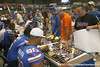 Florida fans wait for autographs during the Gators' annual Fan Day on Sunday, August 15, 2010 at the Stephen C. O'Connell Center in Gainesville, Fla. / Gator Country photo by Tim Casey