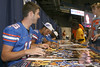 Florida freshman quarterback Christian Provancha signs an autograph during the Gators' annual Fan Day on Sunday, August 15, 2010 at the Stephen C. O'Connell Center in Gainesville, Fla. / Gator Country photo by Tim Casey