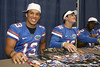 Florida freshman quarterback Trey Burton poses for a photo during the Gators' annual Fan Day on Sunday, August 15, 2010 at the Stephen C. O'Connell Center in Gainesville, Fla. / Gator Country photo by Tim Casey