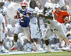 Florida junior running back Jeff Demps runs for 21 yards during the first half of the Gators' game against the South Florida Bulls on Saturday, September 11, 2010 at Ben Hill Griffin Stadium in Gainesville, Fla. / Gator Country photo by Tim Casey