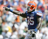 Florida senior strong safety Ahmad Black points out a receiver during the second half of the Gators' 38-14 win against the South Florida Bulls on Saturday, September 11, 2010 at Ben Hill Griffin Stadium in Gainesville, Fla. / Gator Country photo by Tim Casey