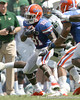 Florida freshman receiver Robert Clark runs with the ball during the second half of the Gators' 38-14 win against the South Florida Bulls on Saturday, September 11, 2010 at Ben Hill Griffin Stadium in Gainesville, Fla. / Gator Country photo by Tim Casey