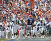 Florida redshirt senior receiver Carl Moore reacts after catching a touchdown pass during the first half of the Gators' game against the South Florida Bulls on Saturday, September 11, 2010 at Ben Hill Griffin Stadium in Gainesville, Fla. / Gator Country photo by Tim Casey