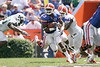 Florida sophomore running back Mike Gillislee runs upfield during the second half of the Gators' 38-14 win against the South Florida Bulls on Saturday, September 11, 2010 at Ben Hill Griffin Stadium in Gainesville, Fla. / Gator Country photo by Tim Casey
