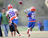 Florida freshman wide receiver Solomon Patton works out during the Gators' first day of spring practice on Wednesday, March 17, 2010 at the Sanders football practice fields in Gainesville, Fla. / Gator Country photo by Tim Casey