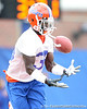 Florida senior safety Ahmad Black works out during the Gators' first day of spring practice on Wednesday, March 17, 2010 at the Sanders football practice fields in Gainesville, Fla. / Gator Country photo by Tim Casey
