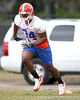 Florida junior defensive end Lerentee McCray works out during the Gators' first day of spring practice on Wednesday, March 17, 2010 at the Sanders football practice fields in Gainesville, Fla. / Gator Country photo by Tim Casey