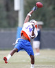 Florida freshman cornerback Jaylen Watkins works out during the Gators' first day of spring practice on Wednesday, March 17, 2010 at the Sanders football practice fields in Gainesville, Fla. / Gator Country photo by Tim Casey