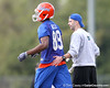 Florida redshirt freshman wide receiver Stephen Alli works out during the Gators' first day of spring practice on Wednesday, March 17, 2010 at the Sanders football practice fields in Gainesville, Fla. / Gator Country photo by Tim Casey