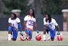 Florida junior cornerback Janoris Jenkins, senior cornerback Moses Jenkins and junior safety Will Hill look on during the Gators' first day of spring practice on Wednesday, March 17, 2010 at the Sanders football practice fields in Gainesville, Fla. / Gator Country photo by Tim Casey