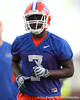 Florida redshirt senior wide receiver Justin Williams works out during the Gators' first day of spring practice on Wednesday, March 17, 2010 at the Sanders football practice fields in Gainesville, Fla. / Gator Country photo by Tim Casey