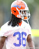 Florida senior cornerback Moses Jenkins works out during the Gators' first day of spring practice on Wednesday, March 17, 2010 at the Sanders football practice fields in Gainesville, Fla. / Gator Country photo by Tim Casey