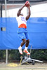 Florida freshman safety Matt Elam works out during the Gators' first day of spring practice on Wednesday, March 17, 2010 at the Sanders football practice fields in Gainesville, Fla. / Gator Country photo by Tim Casey