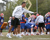 Florida head coach Urban Meyer participates during the Gators' first day of spring practice on Wednesday, March 17, 2010 at the Sanders football practice fields in Gainesville, Fla. / Gator Country photo by Tim Casey