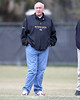 Baltimore Ravens' defensive coach Greg Mattison looks on during the Gators' first day of spring practice on Wednesday, March 17, 2010 at the Sanders football practice fields in Gainesville, Fla. / Gator Country photo by Tim Casey