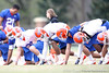 during the Gators' first day of spring practice on Wednesday, March 17, 2010 at the Sanders football practice fields in Gainesville, Fla. / Gator Country photo by Tim Casey