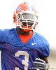 Florida redshirt junior running back Chris Rainey works out during the Gators' first day of spring practice on Wednesday, March 17, 2010 at the Sanders football practice fields in Gainesville, Fla. / Gator Country photo by Tim Casey