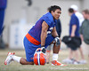 Florida redshirt senior running back Emmanuel Moody looks on during the Gators' first day of spring practice on Wednesday, March 17, 2010 at the Sanders football practice fields in Gainesville, Fla. / Gator Country photo by Tim Casey