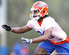 Florida freshman cornerback Joshua Shaw works out during the Gators' first day of spring practice on Wednesday, March 17, 2010 at the Sanders football practice fields in Gainesville, Fla. / Gator Country photo by Tim Casey