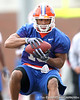 Florida redshirt sophomore wide receiver T.J. Lawrence works out during the Gators' first day of spring practice on Wednesday, March 17, 2010 at the Sanders football practice fields in Gainesville, Fla. / Gator Country photo by Tim Casey