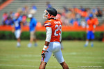 Florida DB Evan Schroeder.  2014 Orange and Blue Debut.  April 12th, 2014. Gator Country photo by David Bowie.