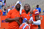Florida DB Brian Poole poses for the camera.  2014 Orange and Blue Debut.  April 12th, 2014. Gator Country photo by David Bowie.