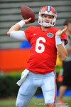 Florida QB Jeff Driskell throwing during warm ups prior to the start of the 2014 Orange and Blue Debut.  2014 Orange and Blue Debut.  April 12th, 2014. Gator Country photo by David Bowie.