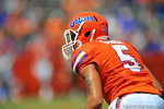 Florida DB Jalen Tabor.  Florida DB Jalen Tabor 2014 Orange and Blue Debut.  April 12th, 2014. Gator Country photo by David Bowie.