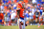 Florida DB Jabari Gorman.  2014 Orange and Blue Debut.  April 12th, 2014. Gator Country photo by David Bowie.