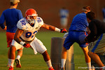 Florida Gator freshman DL Gerald Willis works out during a practice drill.  August 8th, 2014. Gator Country photo by David Bowie.