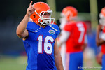 Florida K Austin Hardin lines up for a kick during practice.  August 7th, 2014. Gator Country photo by David Bowie.