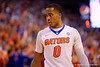 Florida Gators guard Kasey Hill during the second half.  Florida Gators vs Kentucky Wildcats.  February 7th, 2015. Gator Country photo by David Bowie.