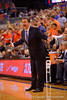 Kentucky Wildcats head coach John Calipari yelling at his players during the second half.  Florida Gators vs Kentucky Wildcats.  February 7th, 2015. Gator Country photo by David Bowie.