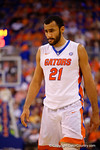 Florida Gators center Jon Horford during the second half.  Florida Gators vs Kentucky Wildcats.  February 7th, 2015. Gator Country photo by David Bowie.