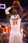 Florida Gators forward Chris Walker takes a foul shot during the first half.  Florida Gators vs Kentucky Wildcats.  February 7th, 2015. Gator Country photo by David Bowie.