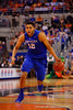 Kentucky Wildcats forward Karl-Anthony Towns drives toward the basket in the second half.  Florida Gators vs Kentucky Wildcats.  February 7th, 2015. Gator Country photo by David Bowie.