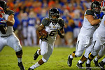 Missouri Tigers tailback Marcus Murphy bursts through the open hole and into the endzone during the first quarter.  Florida Gators vs Missouri Tigers.  October 18th, 2014. Gator Country photo by David Bowie.