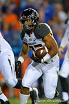 Missouri Tigers tailback Russell Hansbrough rushes upfield during the second quarter.  Florida Gators vs Missouri Tigers.  October 18th, 2014. Gator Country photo by David Bowie.
