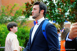 Florida Gators quarterback Will Grier and the Florida Gators march into Ben Hill Griffin Stadium greeting the Florida fans before the start of the game versus the Idaho Vandals.   Florida Gators vs Idaho Vandals.  August 30th, 2014. Gator Country photo by David Bowie.