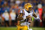 LSU Tigers quarterback Anthony Jennings rushes downfield during the third quarter.  Florida Gators vs LSU Tigers.  October 11th, 2014. Gator Country photo by David Bowie.