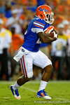 Florida Gators running back Kelvin Taylor rushes downfield in the first half against the Kentucky Wildcats.  Florida Gators vs Kentucky Wildcats.  September 13th, 2014. Gator Country photo by David Bowie.