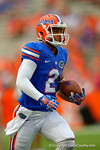 Florida Gators wide receiver Ryan Sousa sprints downfield during pre-game warm ups.  Florida Gators vs Kentucky Wildcats.  September 13th, 2014. Gator Country photo by David Bowie.