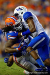 Florida Gators running back Matt Jones rushes down inside the 10-yard line during the first overtime.  Florida Gators vs Kentucky Wildcats.  September 13th, 2014. Gator Country photo by David Bowie.