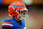 Florida Gators defensive back Vernon Hargreaves, III during pre-game drills.  Florida Gators vs Kentucky Wildcats.  September 13th, 2014. Gator Country photo by David Bowie.