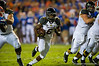 Missouri Tigers running back Marcus Murphy rushes through the open hole and into the endzone during the second quarter.  Florida Gators vs Missouri Tigers.  October 18th, 2014. Gator Country photo by David Bowie.