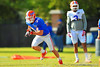 WR Case Harrison sprints downfield during practice.  Florida Gators Spring Practice 2014.  March 26st, 2014.  Gator Country photo by David Bowie.