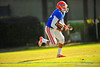 The Florida Gator football team run position drills during spring practice.  Florida Gators Spring Practice 2014.  March 26st, 2014.  Gator Country photo by David Bowie.